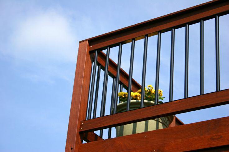 Best Deck Railings Round Aluminum Balusters Decks Pinterest 400 x 300