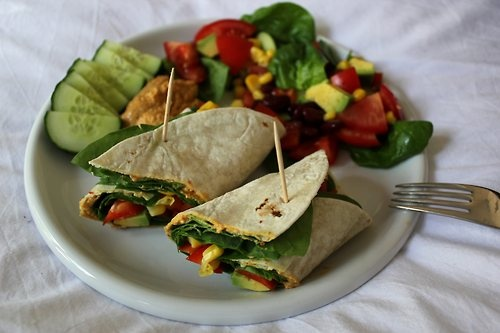 Sweet Corn Salad Wraps Recipes — Dishmaps