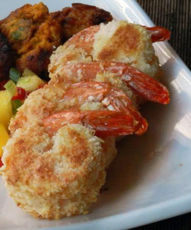 Baked Coconut Shrimp   Todo lo sabroso es pecado... o engorda. (De…