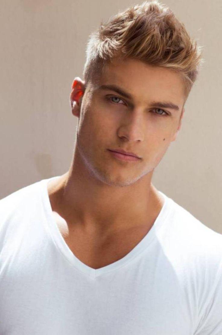 Mens short blonde haircuts