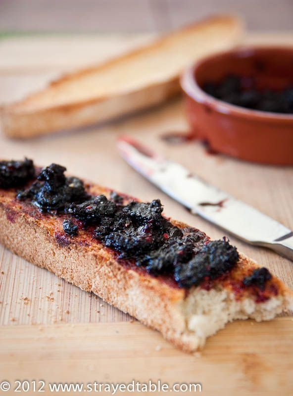 Mulberry Jam - We have two HUGE mulberry trees in our yard. Gotta make ...