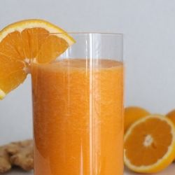 Carrot-Ginger Smoothie recipe - immune system boost