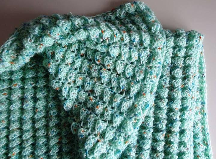 Crocheting Puff Stitch : crochet blanket in puff stitch variation Crochet Pinterest
