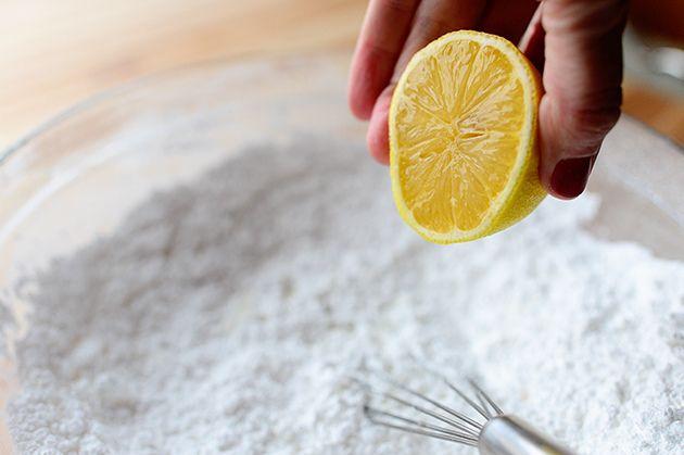 Lemon Rosemary Scones Scones 3 cups All-purpose Flour 2/3 cups Sugar 5 ...