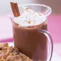 Lots of hot chocolate variations, e.g. eggnog hot chocolate. Use this ...