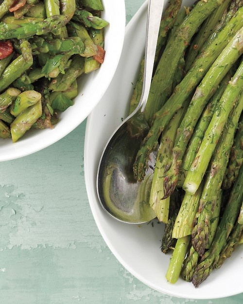 Sauteed Asparagus with Bacon...delish!