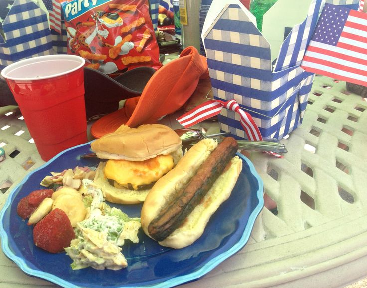 menu 4th of july cookout