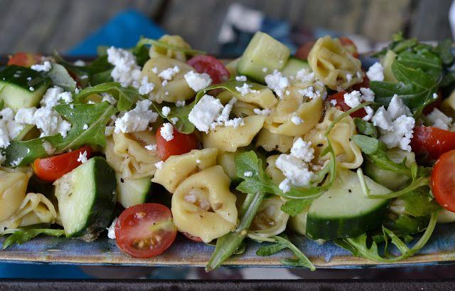 Mediterranean Tortellini Pasta Salad | Bonbons & Biscotti | Pinterest