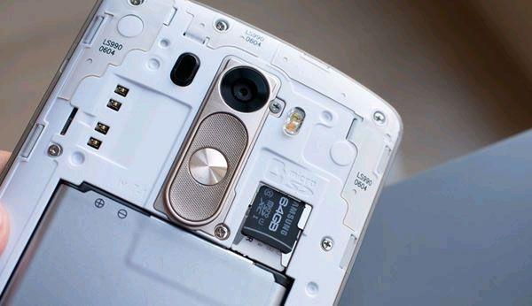 8 thủ thuật để sử dụng tốt nhất camera của G3 - ảnh 8 Lưu hình ảnh và video vào thẻ SD