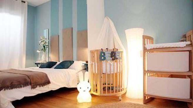 Une chambre parentale partag e avec b b ideas for - Coin bebe dans chambre parentale ...