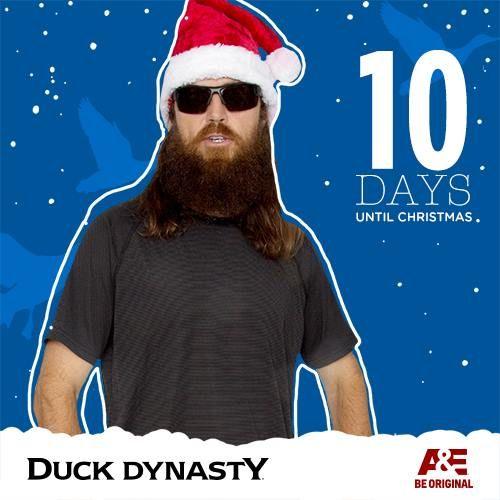 10 days til Christmas | Duck Dynasty | Pinterest