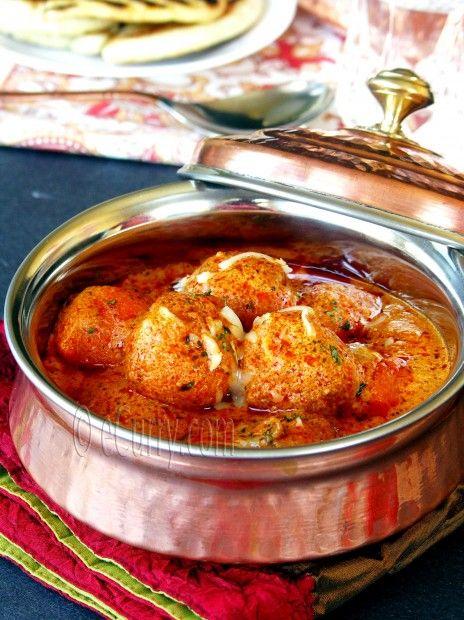 Malai Kofta (Cheese Dumplings Simmered in a Creamy Sauce) My very ...