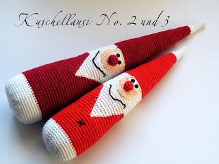 Happy August & autumn crochet, X-mas is knocking at your door, only four month left <3<3<3 / Pfiffigstes Häkelblog: Ahhhh, Weihnachten kommt, aber zuerst der Herbst. Amigurumi santa.