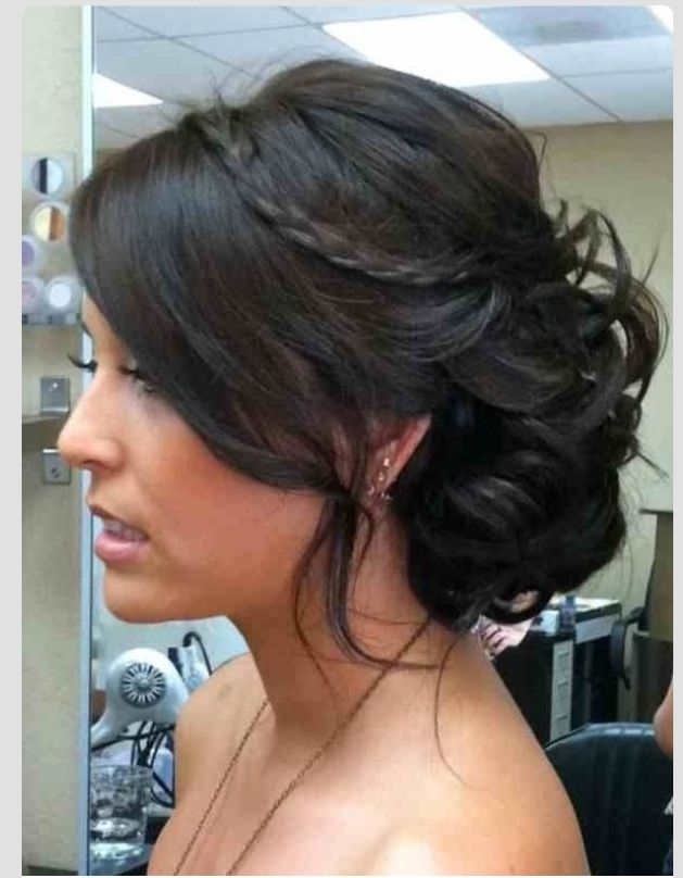 Bridesmaid hairstyle | tying the knot :) | Pinterest