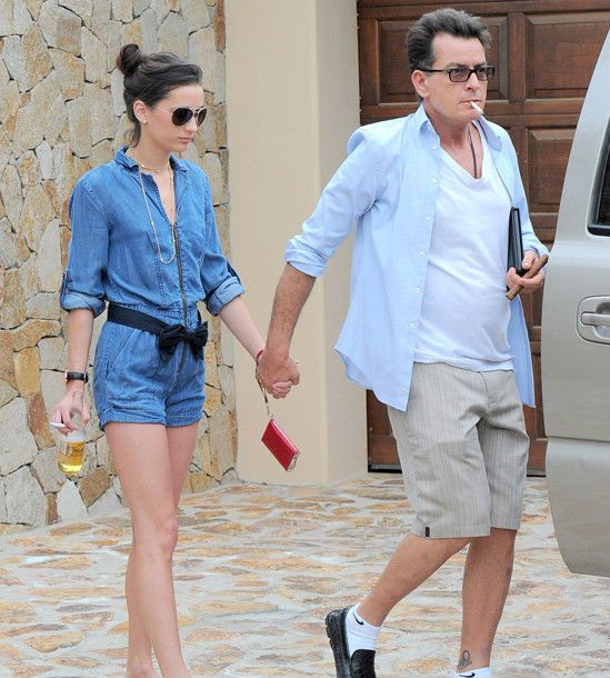 So Who is current Charlie Sheen girlfriend?