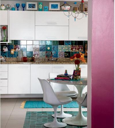 Mosaico de azulejos
