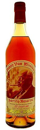 Pappy van winkle family reserve 20 year 750ml hard to find but