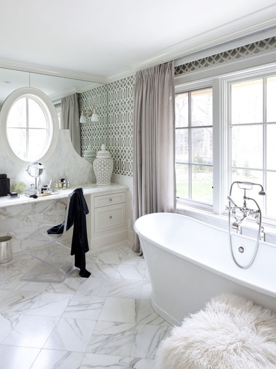 Tiffany Eastman Interiors, LLC  nice mirror idea