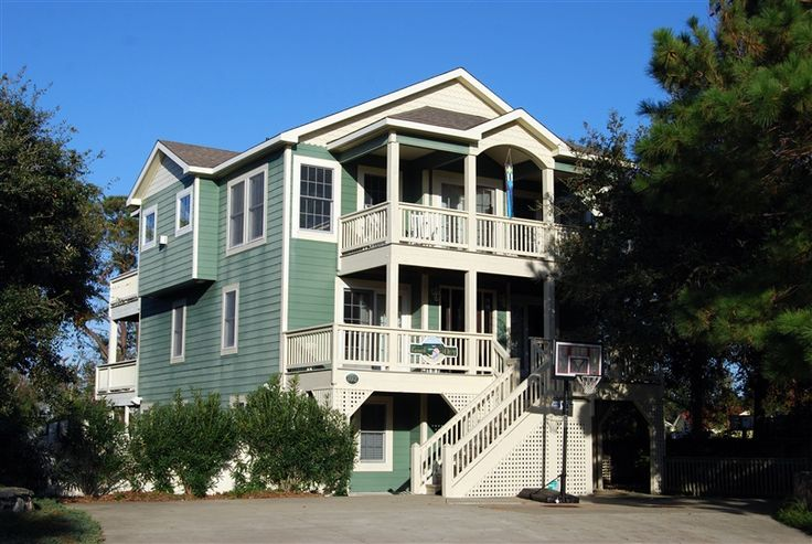 Carolina designs vacation home in outer banks ask home for Home design outer look
