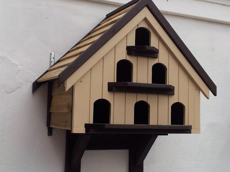 6 Pair Wall Mounted Dovecote Birdhouse Pinterest