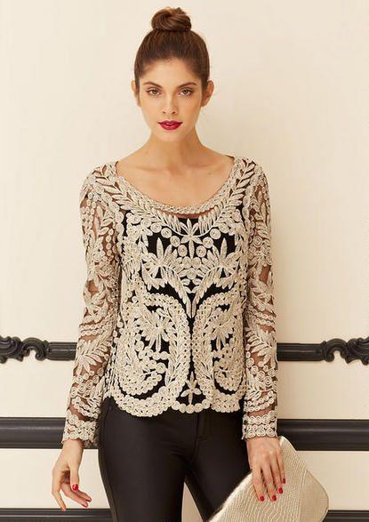 Juliette Crochet Blouse 61