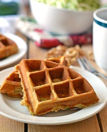 Zucchini Waffles | Recipe