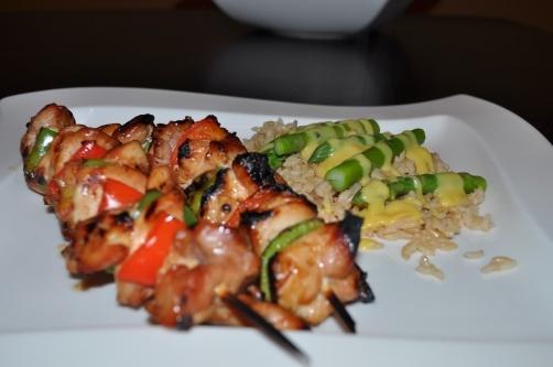 Asian Chicken Kebabs   Recipes   Pinterest