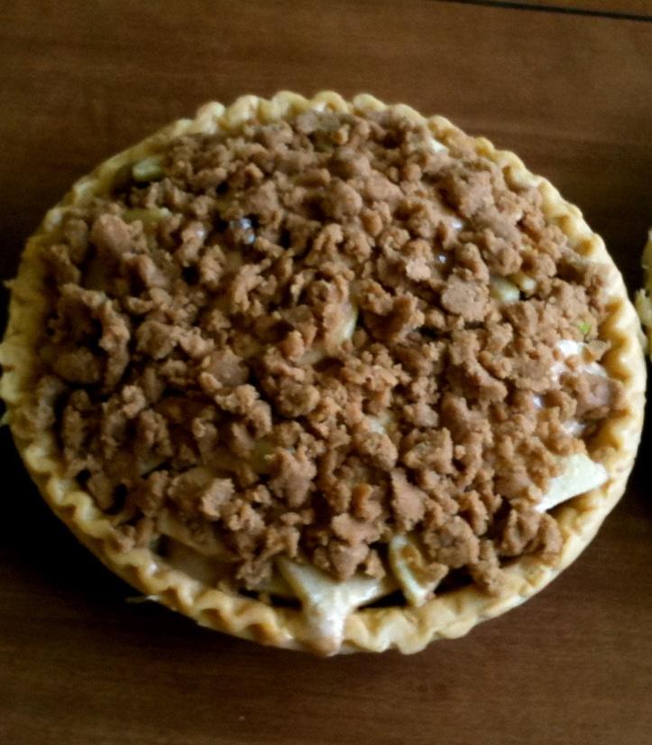 Homemade Apple Crumble Pie   Food & Drinks   Pinterest