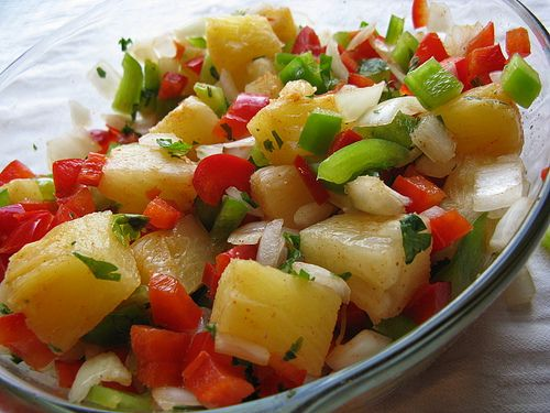 Pineapple Salsa!! | dips/Appetizer | Pinterest