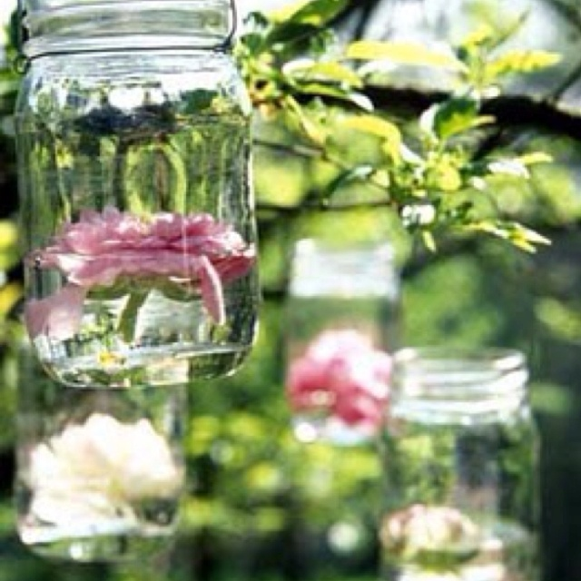 Mason Jar Ideas Pinterest