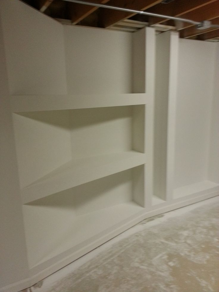 goodens basement drywall shelves diy construction pinterest. Black Bedroom Furniture Sets. Home Design Ideas