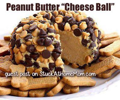 """Cheese Ball"" Ingredients: 1 package (8 ounces) cream cheese ..."