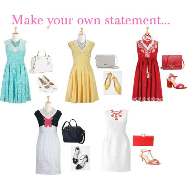 """Make you own statement..."" by lisaag on Polyvore"