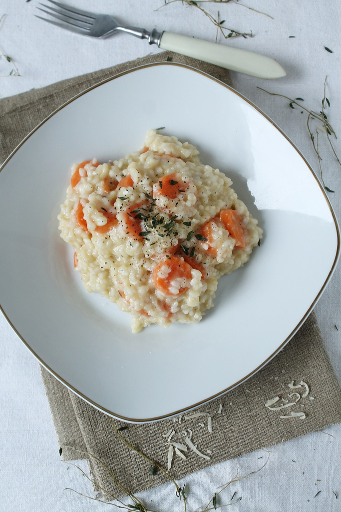carrot risotto arborio rice butter onion carrots chili vegetable stock ...
