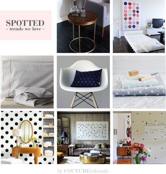 Polka dot interiors