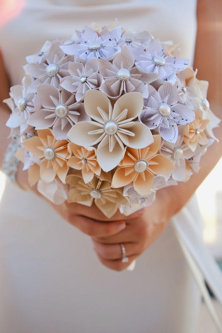 Цветы букеты из бумаги