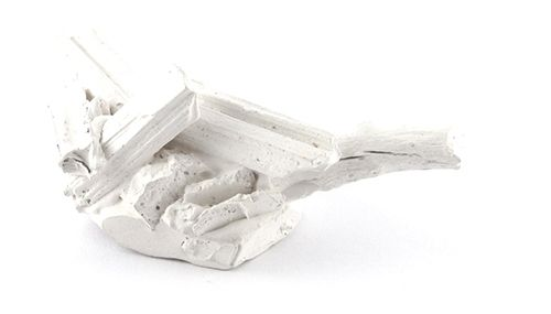Arnaud Sprimont Brooch: My Body is a Chaotic Forest, Nr 020, 2013 Jesmonite, pigment, neodymium, magnet 6.5 x 3.5 x 2.5 cm
