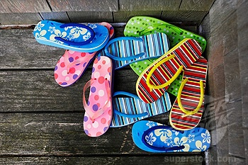 Image result for pile of flip flops