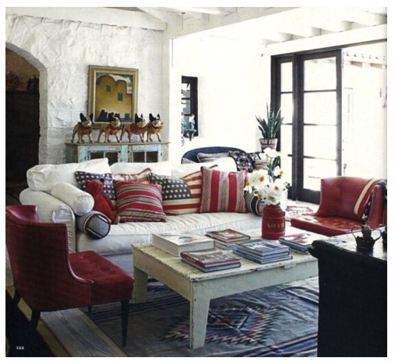 americana living room for the home pinterest