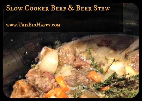 slow cooker beef and beer stew | Food I Must Eat | Pinterest