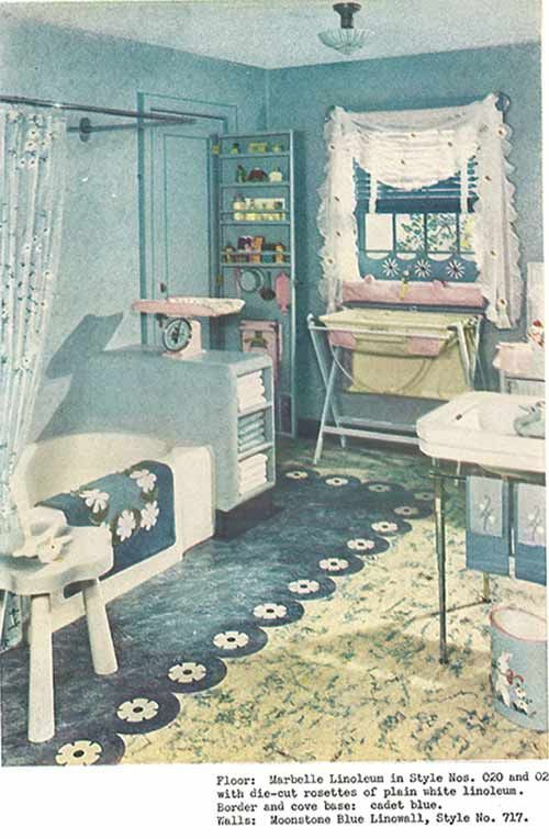 1940s decor bathroom vintage pinterest for Bathroom ideas 1940