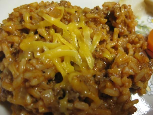 Cheesy Mexican Rice Skillet from Food.com: This is SO easy and yummy ...