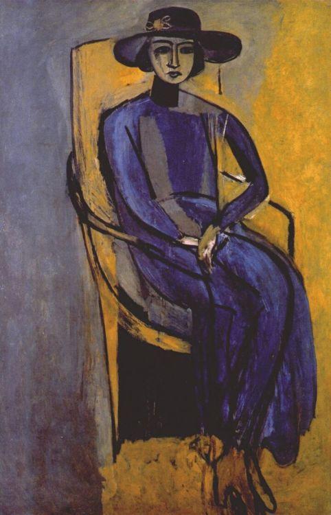 Henri Matisse, Portrait of Greta Prozor, 1916