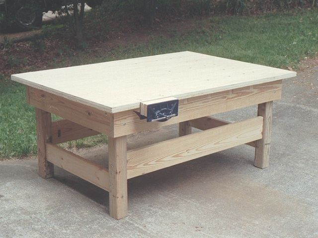 Woodworking Bench | Great for Outdoor Classroom | Pinterest