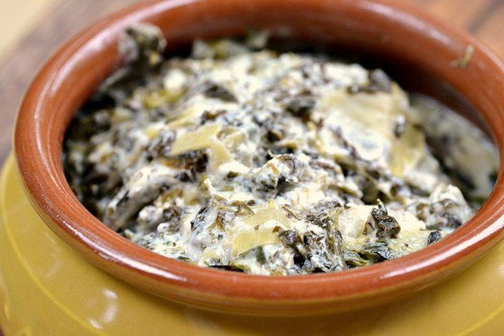 eat skinny: goat cheese, spinach & artichoke dip recipe. DSC_0684