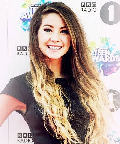 Zoella Sugg Hair I love her ombre hair    Zoella Ombre Hair Straight