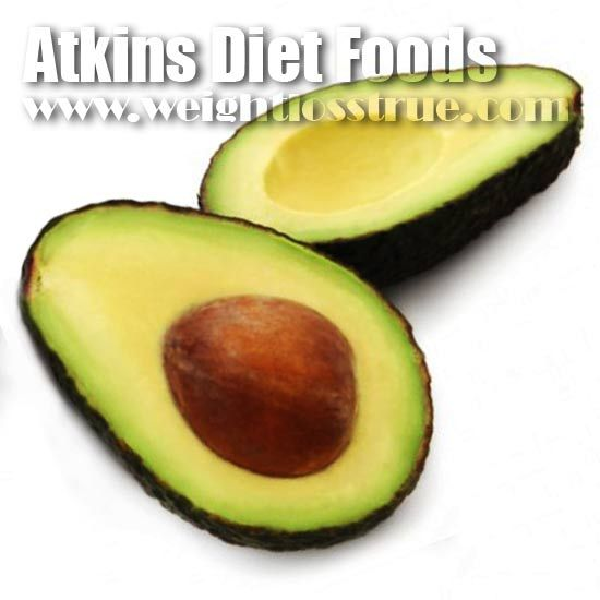 Atkins Diet Foods List Phase 1