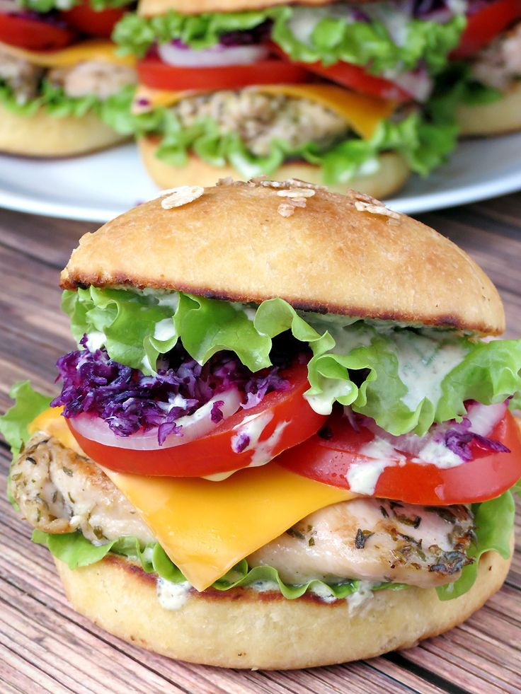 how to cook grilled chicken burgers