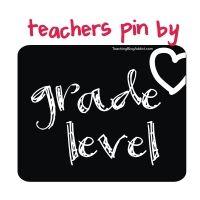 Teaching Blog Addict: Search Pinterest by Grade Level