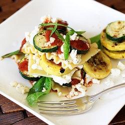 No-Bake Grilled Vegetable Lasagna | YUMMY Recipes | Pinterest